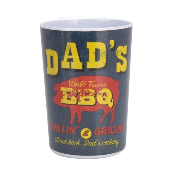 6-dielna kempingová sada riadu Postershop Dad's BBQ