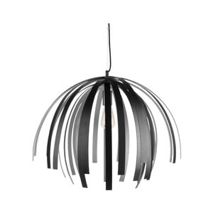 Stropné svietidlo v čierno-striebornej farbe Leitmotiv Willow Large