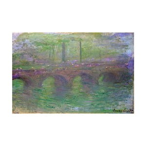 Obraz Claude Monet - Waterloo Bridge, 90x60 cm