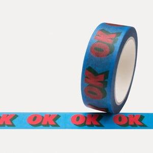 Washi páska U Studio Design OK, dĺžka 4 m