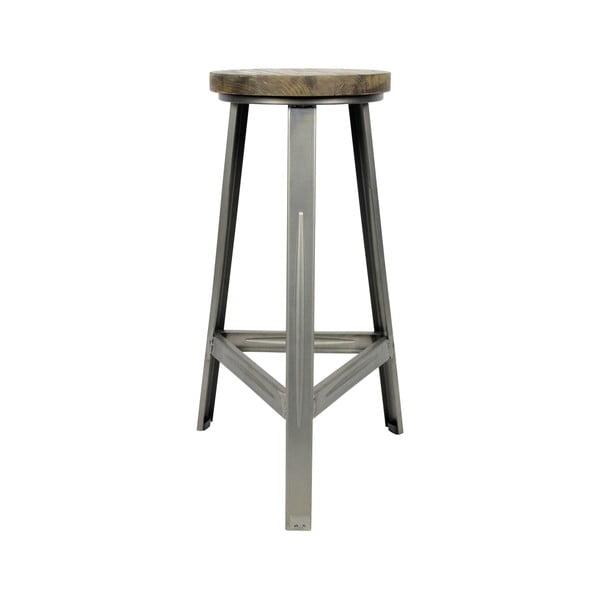 Tmavá barová stolička Red Cartel Trapis