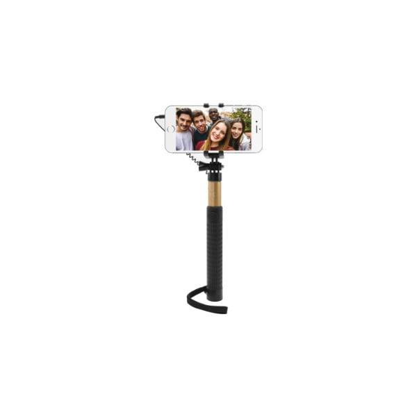 Teleskopická selfie tyč FIXED, zlatá
