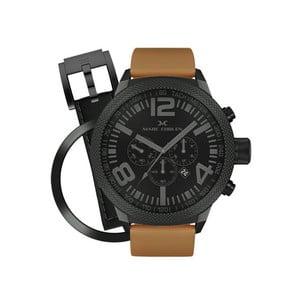 Pánske hodinky Marc Coblen s remienkom a krúžkom na ciferník naviac P46