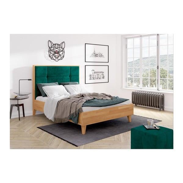 Dvojlôžková posteľ z masívneho bukového dreva SKANDICA Frida, 160 x 200 cm