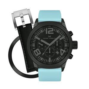 Dámske hodinky Marc Coblen s remienkom a krúžkom na ciferník naviac P106