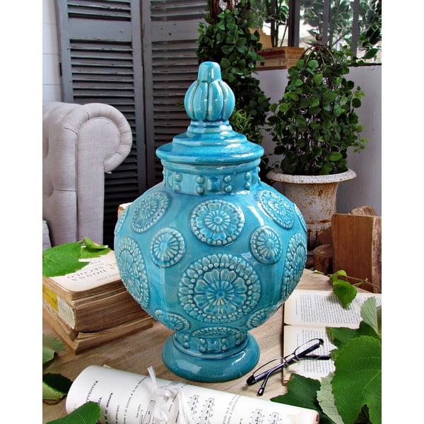 Dekorácia Oriental Turquoise
