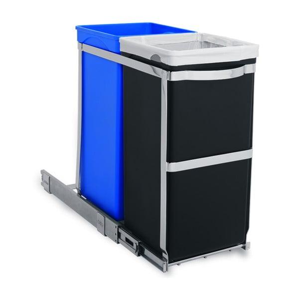 Vstavaný odpadkový kôš na triedený odpad Inside 20/15 l