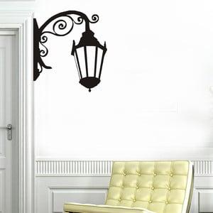 Dekoratívna nástenná samolepka Old Lamp