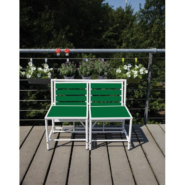 Skladacia lavica Magical, zelená