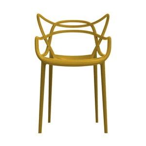 Horčicová stolička Kartell Masters