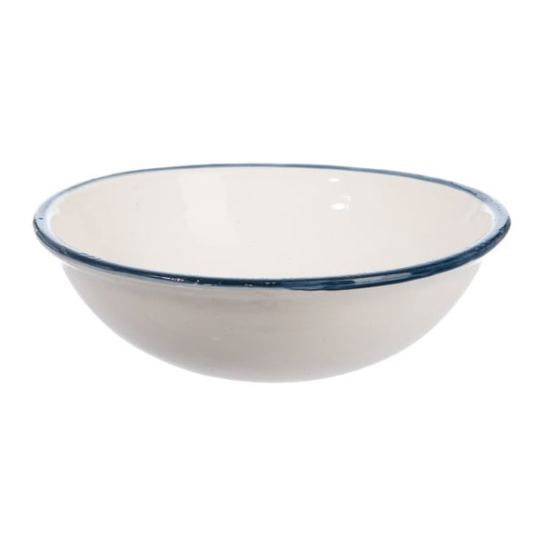 Keramická mísa Cream and Blue, 30 cm