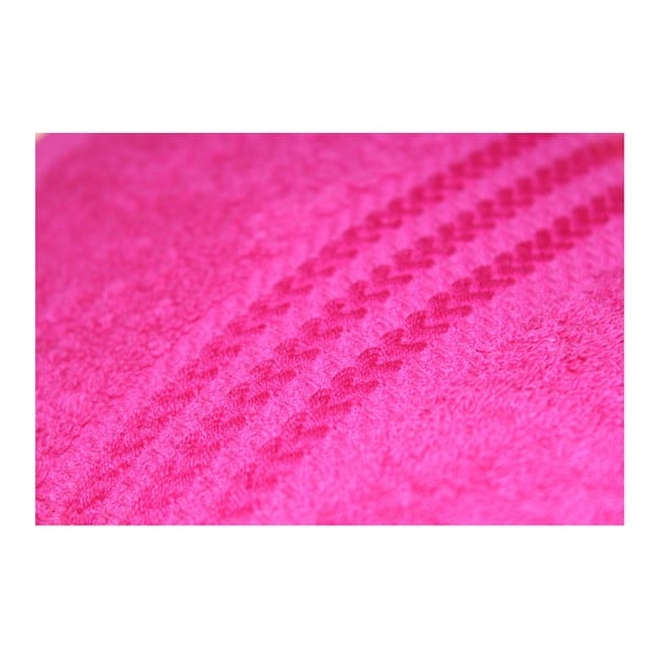 Sada 4 ružových uterákov Rainbow Rose, 50×90cm