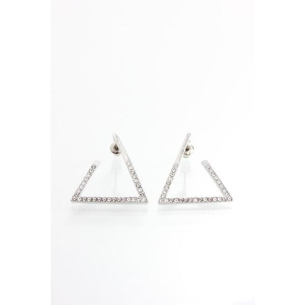 Náušnice s krištáľmi Swarovski Elements Laura Bruni Triangle