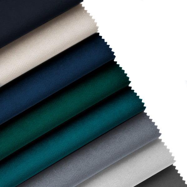 Modrá podnožka Cosmopolitan Design Vienna, 100×80 cm
