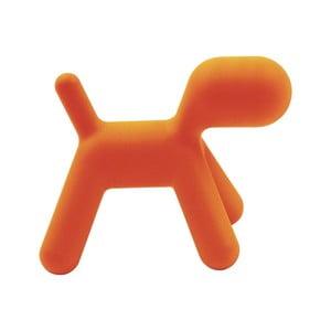 Oranžová stolička Magis Puppy, dĺžka56cm