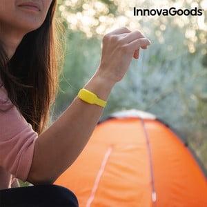 Žltý repelentný náramok proti komárom s vôňou citronely InnovaGoods