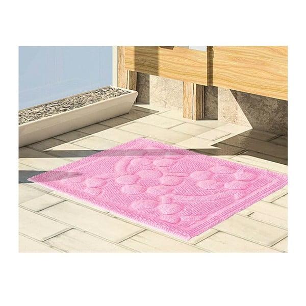 Predložka do kúpeľne Papatya Pink, 50x60 cm