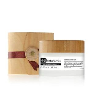 Hydratačný pleťový krém Dr.Botanicals Ultra-Repair Overnight Regenerating Treatment Wooden Limited