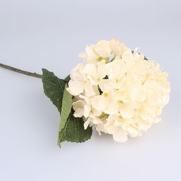 Umelý kvet bielej hortenzie Dakls Hydrangea