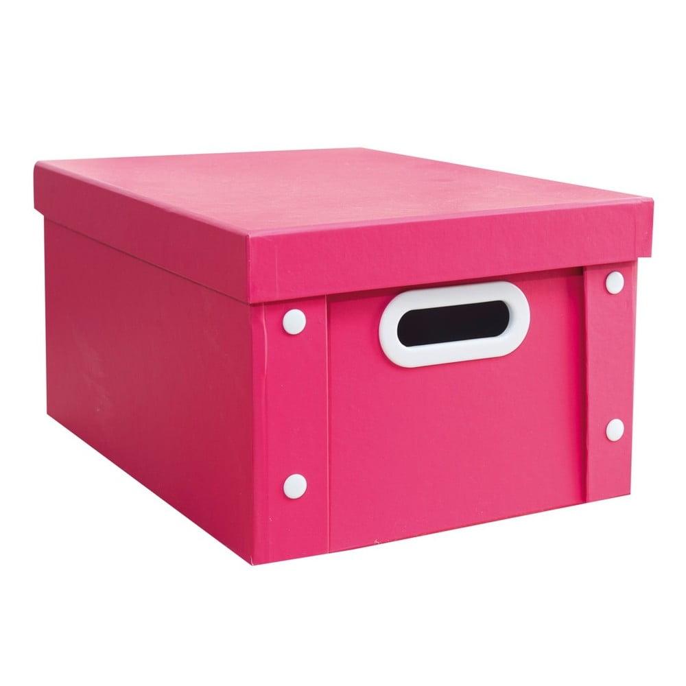 d0a1a9c16 ... Úložné krabice a košíky · Farebný úložný box Pink