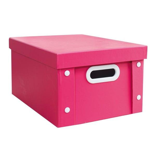 Farebný úložný box Pink