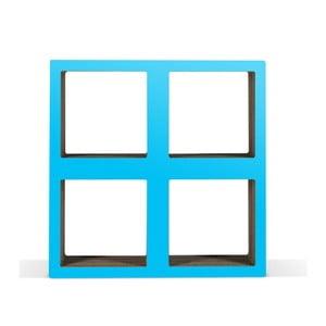 Malá kartónová knižnica Bit  Square Blue