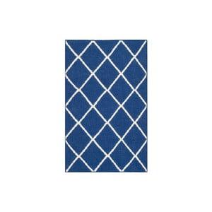 Vlnený koberec Fes 76x121 cm, modrý