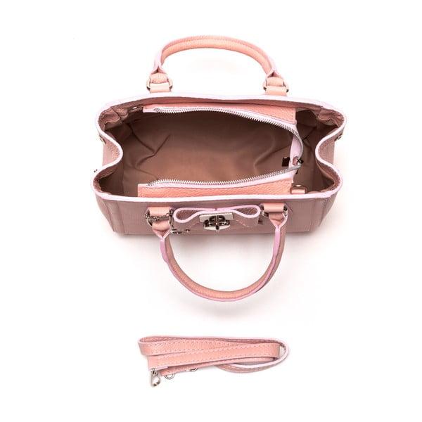 Kožená kabelka Renata Corsi 1044 Rosa
