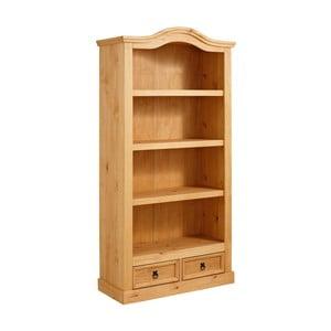 Knižnica z borovicového dreva Støraa Alfredo