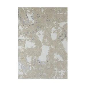 Béžová bavlnená kúpeľnová predložka My Home Plus Relax, 60×90 cm
