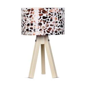 Stolová lampa Kate Louise Kahve Leopard