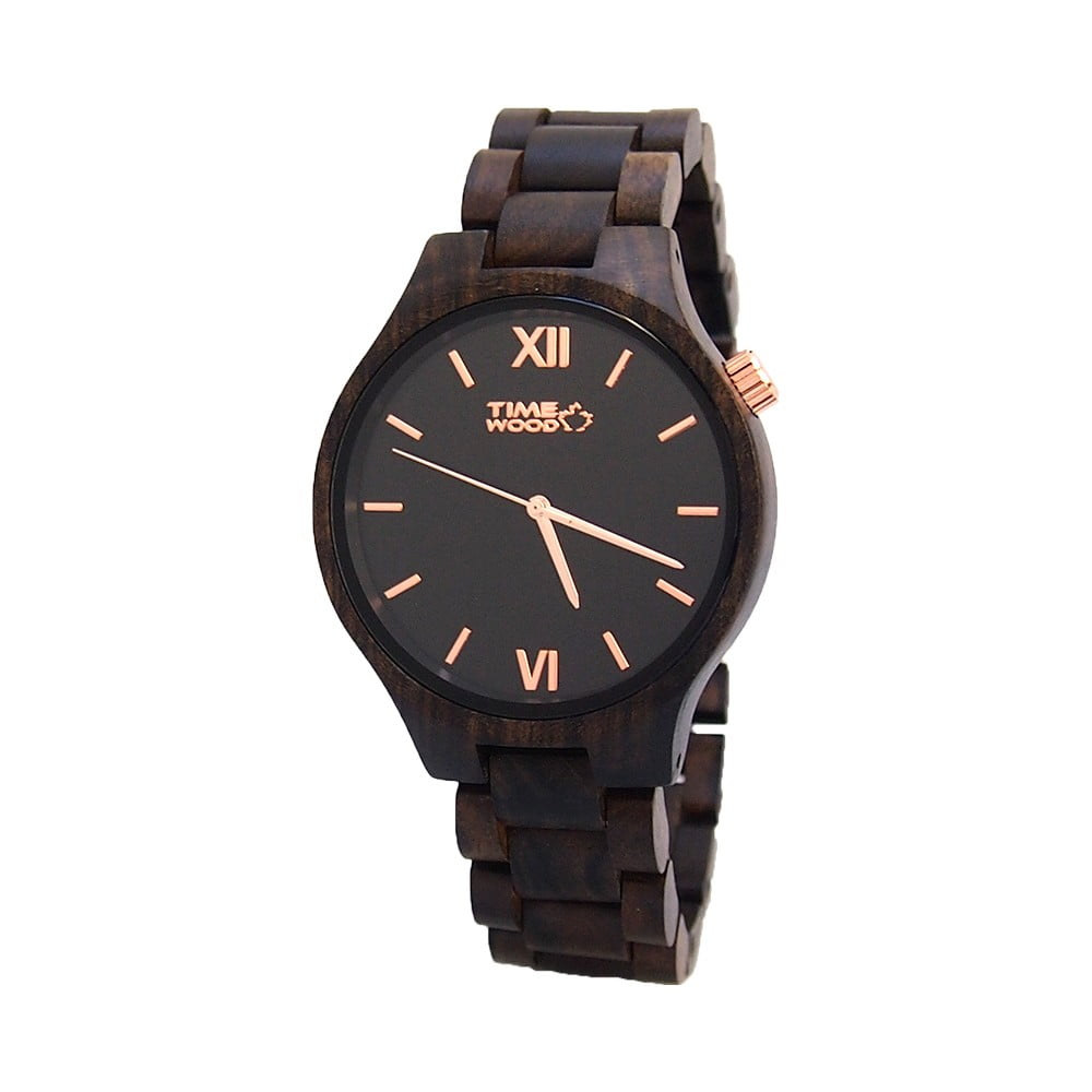 Drevené hodinky TIMEWOOD Nero  a405ffab0c4