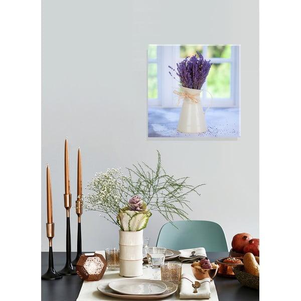 Obraz Mug with Lavender, 55x55 cm
