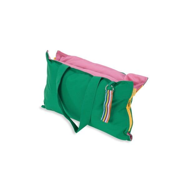 Skladací sedák Hhooboz 50x60 cm, zelený