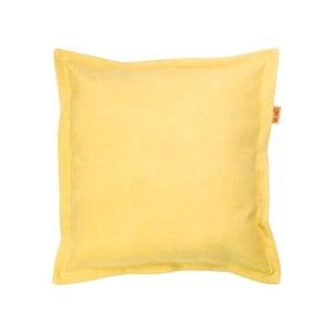 Vankúš Gie El 43x43 cm, žltý