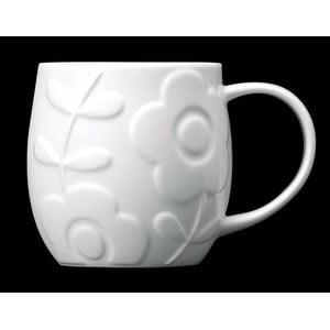Hrnček z kostného porcelánu Plum Flower