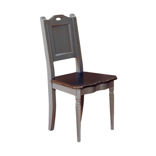 Jedálenská stolička Belgique Grey