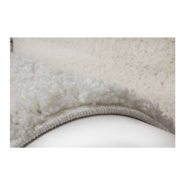 Koberec Edge 228 White, 80x150 cm