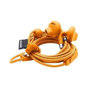 Oranžové slúchadlá do uší s mikrofónom Urbanears SUMPAN Bonfire Orange