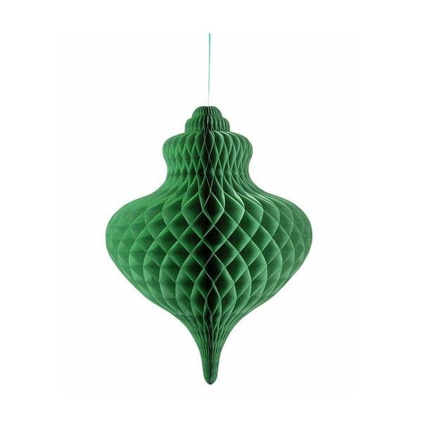 Papierová dekorácia Giant Honeycomb Green XXL