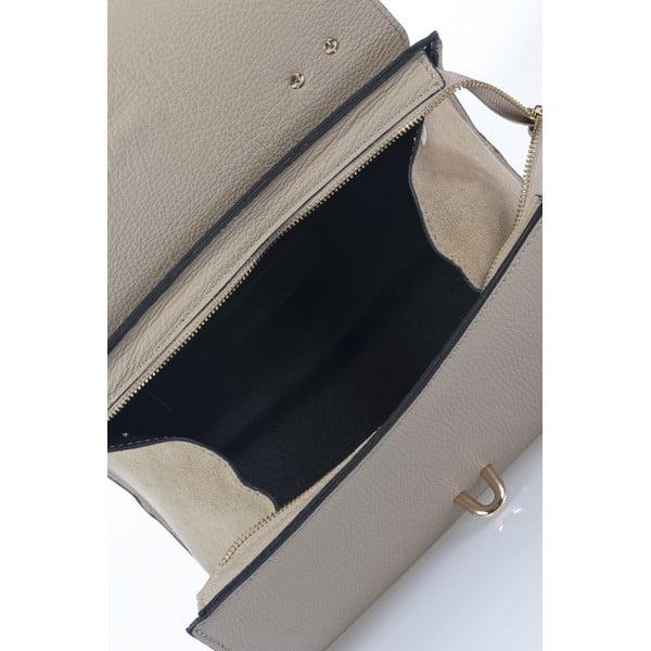 Kožená kabelka Markese 5258 Taupe