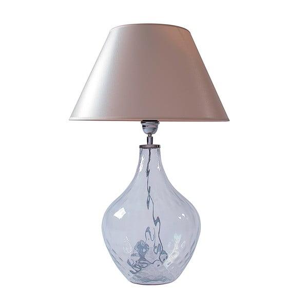 Stolová lampa Číre sklo