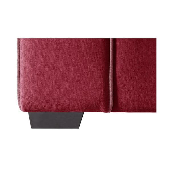 Dvojmiestna pohovka Jalouse Maison Serena, červená