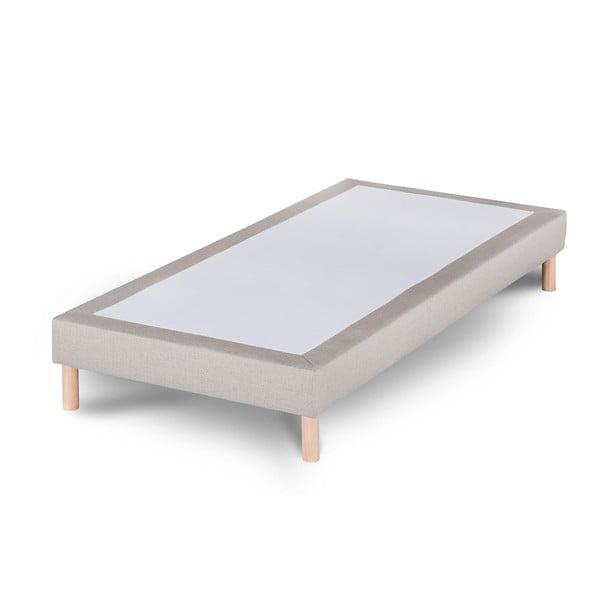 Svetlosivá posteľ Stella Cadente Sommier, 90x200cm
