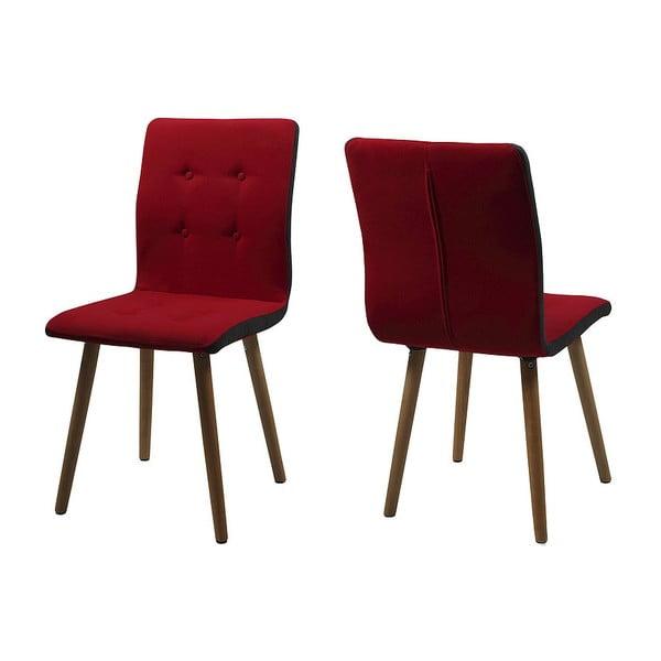 Jedálenská stolička Frida, červená