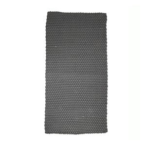 Sivý koberec Simla Simple, 140 × 70 cm