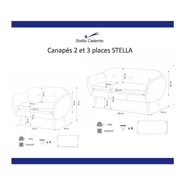 Olivovozelená pohovka Scandi by Stella Cadente Maison