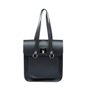 Čierno-modrá kožená kabelka Brix + Bailey Rosemont