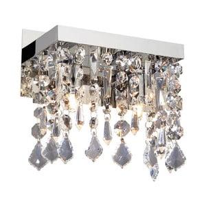 Nástenné svetlo Crido Crystals Chrome