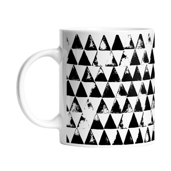 Hrnček Black Shake Pyramides, 330ml
